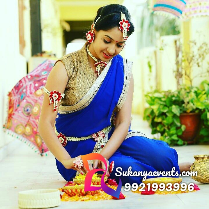 Real Flower Jewellery For Haldi Real Flower Jewellery